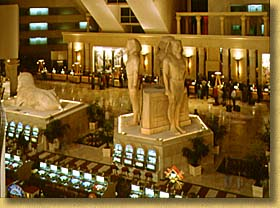 Luxor Has Substantially Redesigned Portions Of The Interior As Well Registration Desk Vip Check In Was Moved To Front Hotel
